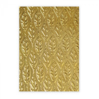Sizzix 3D Textured Impressions Embossing Folder - Feathers 661257