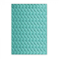 Sizzix 3D Textured Impressions Embossing Folder - Woven 661261