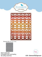Elizabeth Craft Designs Joset - Diamond Background 1278