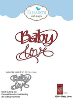 Elizabeth Craft Designs Quietfire - Baby Love 1299