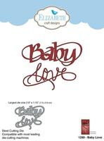 Elizabeth Craft Designs Quietfire - Baby Love 1299
