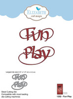 Elizabeth Craft Designs Quietfire - Fun Play 1302