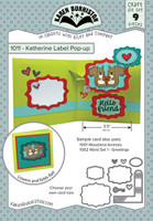 Karen Burniston - Katherine Label Pop Up Die Set 1011