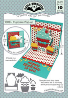 Karen Burniston - Cupcake Pop Up Die Set 1008