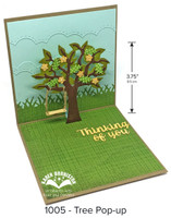 Karen Burniston - Tree Pop Up Die Set 1005