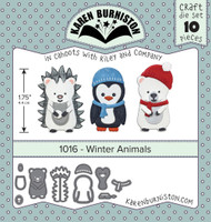 Karen Burniston - Winter Animals 1016