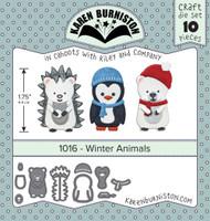 Karen Burniston - Winter Animals 1016