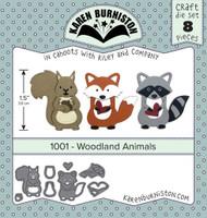 Karen Burniston - Woodland Animals 1001