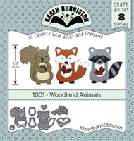 Karen Burniston - Woodland Animals 1001