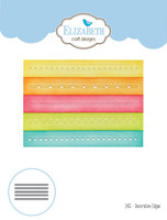 Elizabeth Craft Designs Joset - Decorative Edges 1 1455