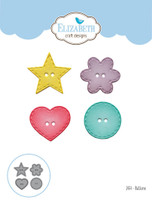 Elizabeth Craft Designs Joset - Buttons 1454