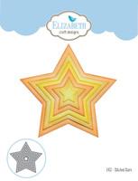 Elizabeth Craft Designs Joset - Stitched Stars 1453