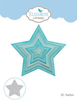 Elizabeth Craft Designs Joset - Fitted Stars 1452