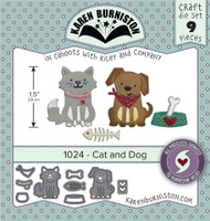 Karen Burniston - Cat & Dog 1024