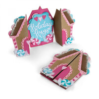 Sizzix Thinlits Die - Gingerbread House Fold a Long Card 662449
