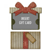 Sizzix Thinlits Die Set Tim Holtz - Gift Card Package 662417