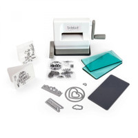 Sizzix Sidekick Starter Kit Die Cutting Machine - White 661770