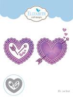 Elizabeth Craft Designs Becky - Love Struck 1476