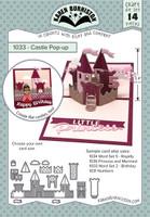 Karen Burniston - Castle Pop Up Die Set 1033