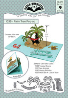 Karen Burniston - Palm Tree Pop Up Die Set 1039