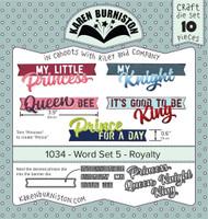 Karen Burniston - Word Set 5 Royalty 1034