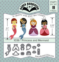 Karen Burniston - Princess & Mermaid 1036