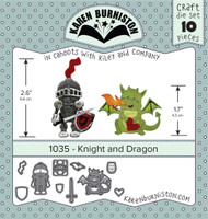 Karen Burniston - Knight & Dragon 1035