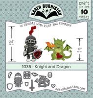 Karen Burniston - Knight & Dragon 1035