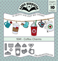 Karen Burniston - Coffee Charms 1041