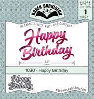 Karen Burniston - Happy Birthday 1030