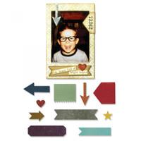 Sizzix Thinlits Die Set 11PK TH - Pocket Frame 662690