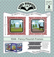 Karen Burniston - Fancy Flourish 1044