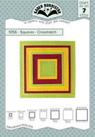 Karen Burniston - Squares Crosshatch 1056
