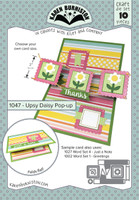 Karen Burniston - Upsy Daisy Pop Up 1047