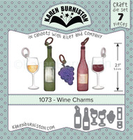 Karen Burniston - Wine Charms 1073