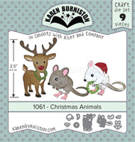 Karen Burniston - Christmas Animals 1061