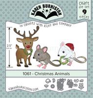 Karen Burniston - Christmas Animals 1061