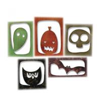 Sizzix Thinlits Die SetTim Holtz 5PK - Halloween Hangouts 663088