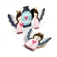Sizzix Thinlits Die Set 13PK - Angel Card Fold a Long 663173