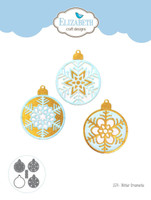 Elizabeth Craft Design Die - Winter Ornaments 1574