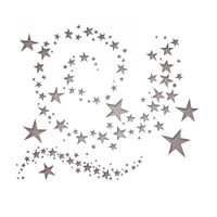 Sizzix Thinlits Die Set 9PK - Swirling Stars 663095