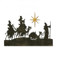 Sizzix Thinlits Die Set 2PK - Wise Men 663127