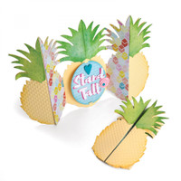 Sizzix Thinlits Die Set 10PK - Pineapple Fold-a-Long Card 662727
