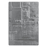 Sizzix 3D Texture Fades Embossing Folder - Foundry 662717