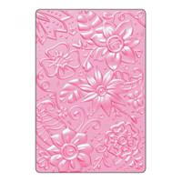 Sizzix 3D Textured Impressions Embossing Folder - Bohemian Botanicals 661948