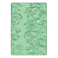 Sizzix 3D Textured Impressions Embossing Folder - Lily Pond 661950