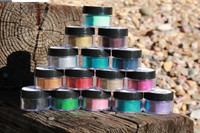VZ Crafts Microfine Glitter - I Want Them All 15 Colors VZ8000-1