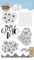 Elizabeth Craft Design Clear Stamp - Planner Pattern 1 CS124