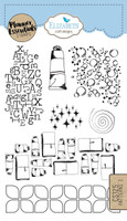 Elizabeth Craft Design Clear Stamp - Planner Pattern 2 CS125