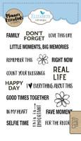 Elizabeth Craft Design Clear Stamp - Planner Family CS120